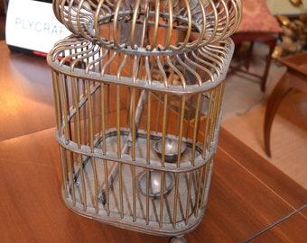 Antique Brass Bird Cage