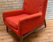 Mid Century Modern Prestige Adrian Pearsall Style Image Chair