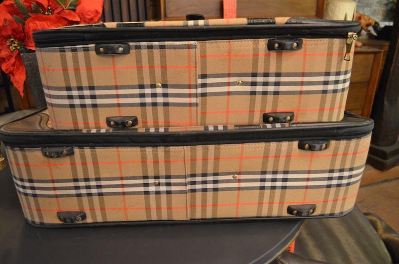 baf6165552b0 Vintage Burberry Luggage