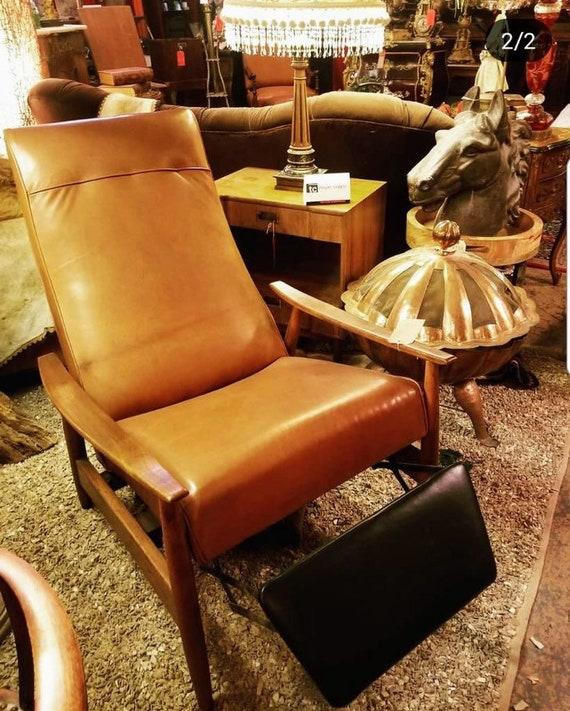 Phenomenal Vintage Mid Century Modern Milo Baughman For Thayer Coggin Tighten Up Recliner Chair Newly Upholstered Uwap Interior Chair Design Uwaporg