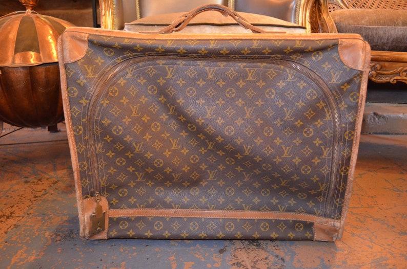 b9035520cb82 Vintage Louis Vuitton Softside Suitcase