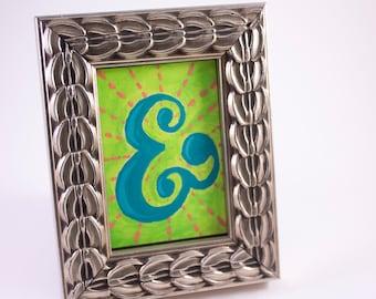 Framed Ampersand Painting