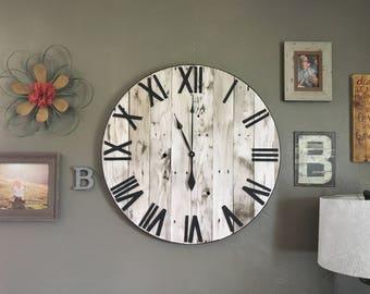 Giant Clock Etsy