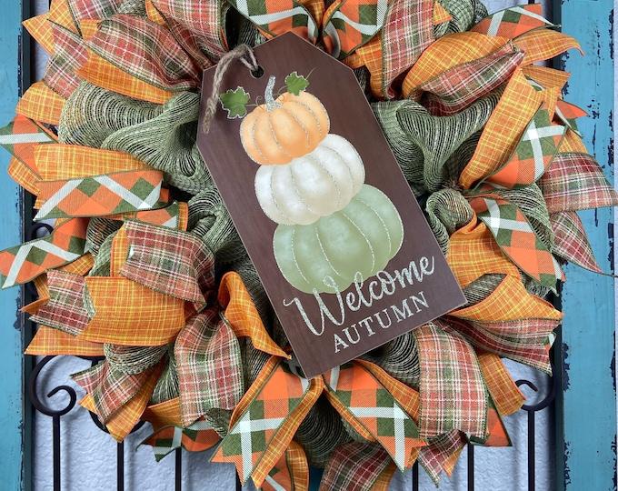 Fall Wreath (Free Shipping)