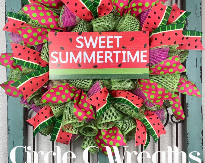 Watermelon Wreath (FREE SHIPPING)
