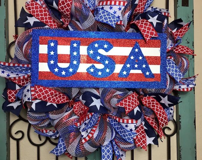 USA/Patriotic Wreath