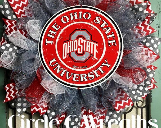 The Ohio State University Wreath