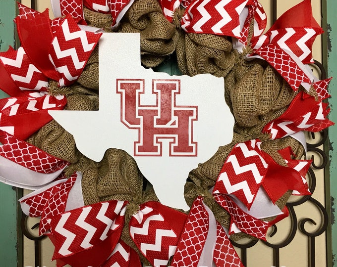 University of Houston Wreath