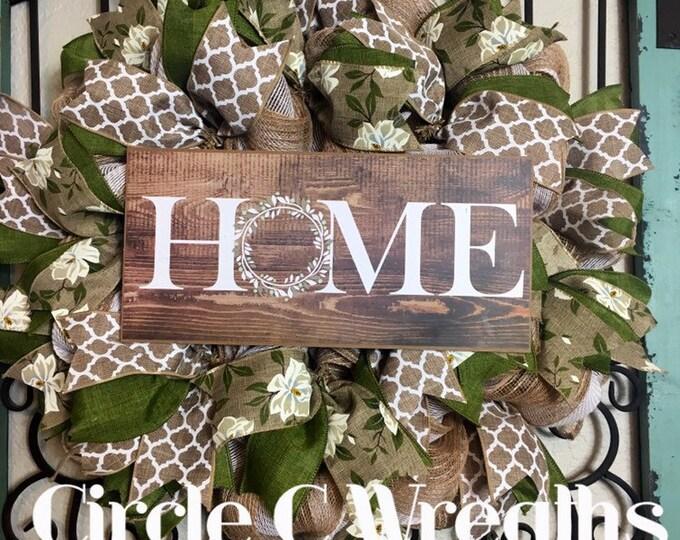 HOME/Year Round Wreath