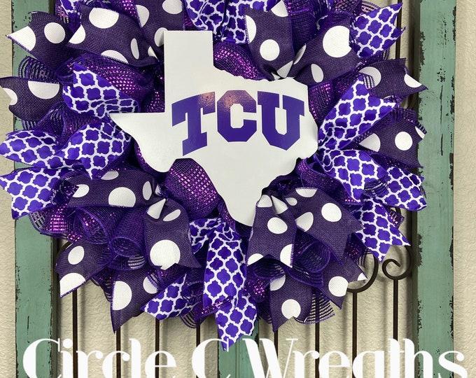 TCU Wreath, Texas Christian University Wreath