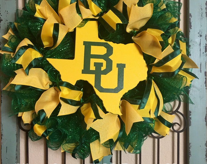 Baylor University Wreath