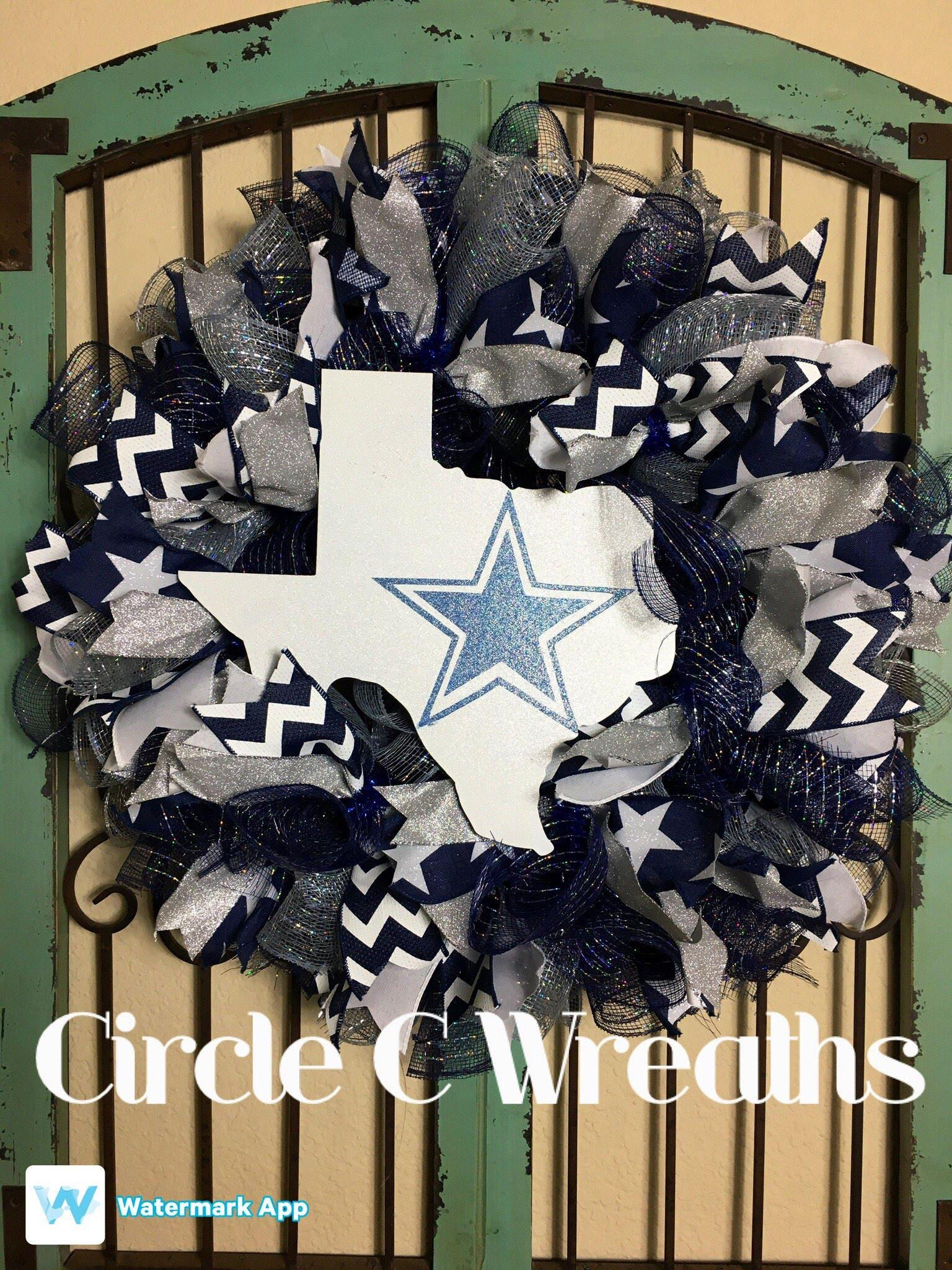 Dallas Cowboys Wreath