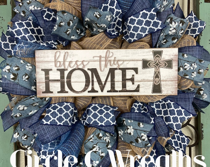 LAST 1-Welcome Wreath (Free Shipping)