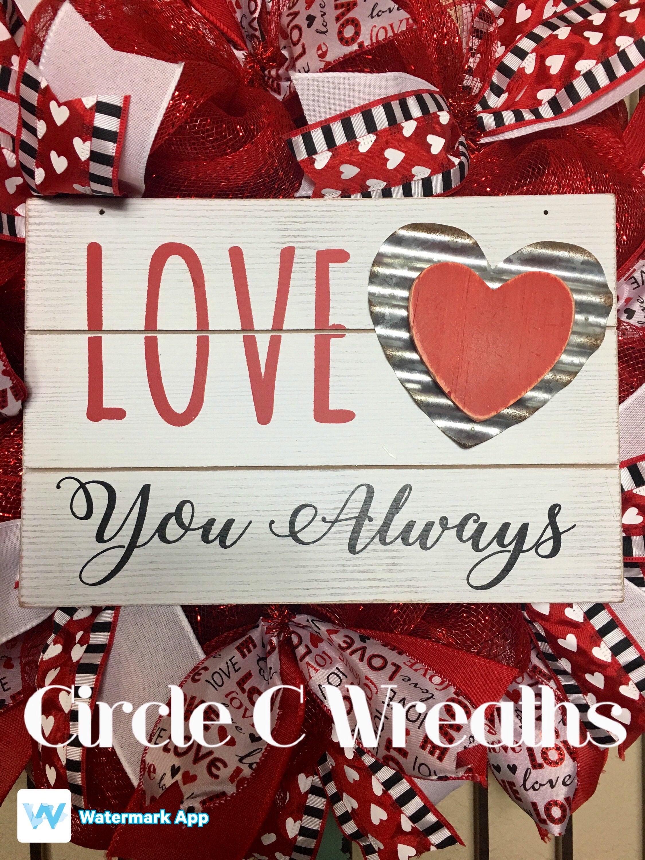 Valentine S Day Wreath Valentine S Day Deco Mesh Wreath