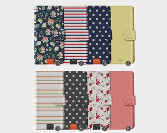 5334078e5fe2 Tirita Wallet Leather Flip Phone Case English Roses Shabby Flowers Vintage  Stripes Polka Dots for iPhone 5 5s SE 6 6s 7 8 Plus X Xr Xs Max