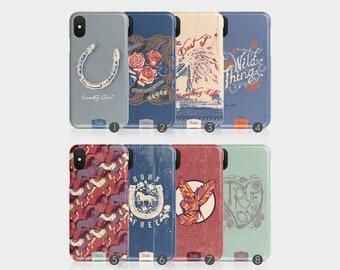 brand new 3be73 b99c0 Western phone case | Etsy