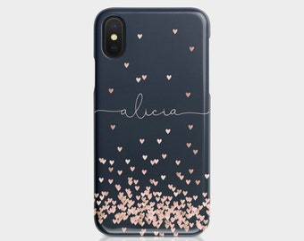 iphone 8 case personalised gold