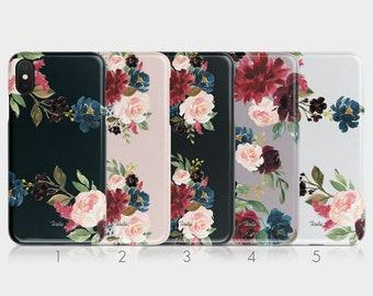 31bd50e230 Tirita Hard Phone Case Floral English Roses Summer Fresh Flowers Shabby for  iPhone 5 5s SE 6 6s 7&8 + X Xs Samsung Motorola LG Huawei HTC