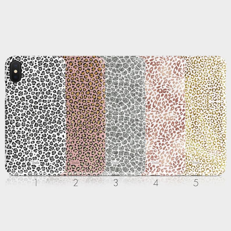 c3c2f9cda570 Tirita Hard Phone Case Animal Print Leopard Skin Tiger Cheetah Safari  Glitter iPhone 5 5s SE 6 6s 7&8 + X Xs Samsung Motorola LG Huawei HTC