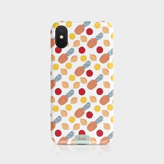 Tirita Phone Case Compatible with iPhone 6 Plus /& 6s Plus Hard Cover Vegetable Summer Fruit Citrus