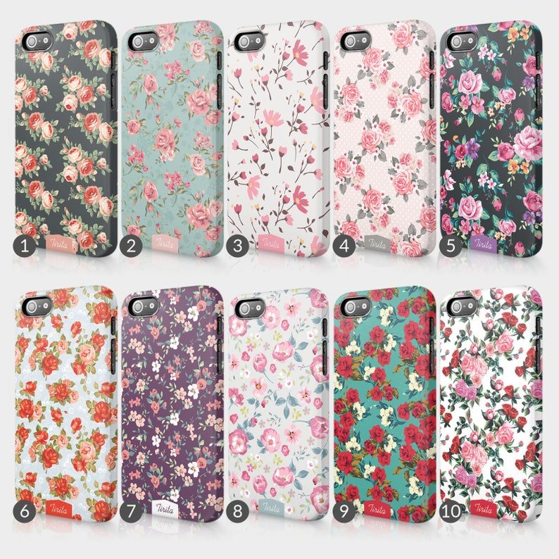the latest 30083 9cdc1 Shabby Chic Floral Retro Phone Case For LG Nexus 5, Amazon Fire Phone,  Blackberry Z10 Full Wrap Cover Gift