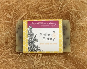 Sweet Bliss & Honey Handcrafted Soap