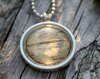 Birch Pendant Necklace