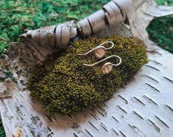 Itty Bitty Birch Dangle Earrings