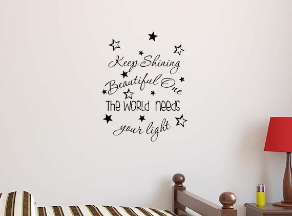 Be yourself Everyone else is taken 23 X 9 Wall quote Art Decor Motivational inspirational sticker vinyl girls heart cute