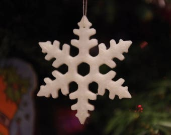 Christmas snowflake decoration