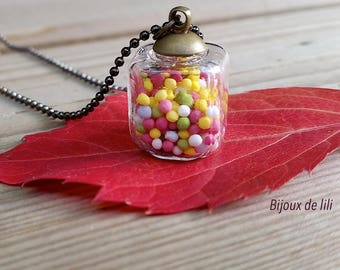 Candy candy necklace