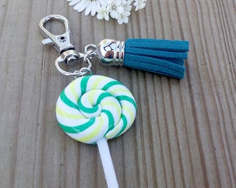 Lollipop lollipop keychain