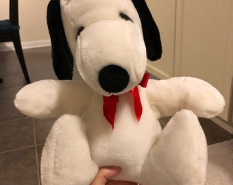 Snoopy Plush Etsy