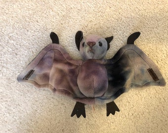 bab4260c179 1998 Ty Beanie Baby BATTY the Ty-Dyed Bat Halloween