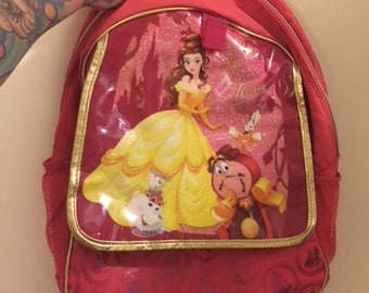 Disney Beauty and The Beast Backpack 256a36eee