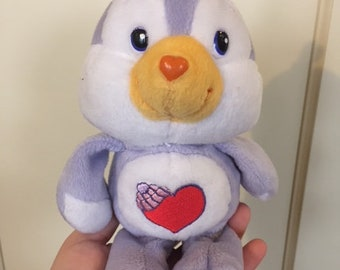1990s The Care Bears Cozy Heart Penguin Plush