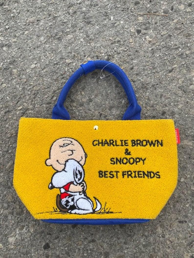 Peanuts Snoopy Charlie Brown Top Handle Purse