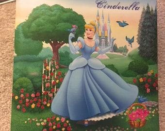 Vintage Disney 1997 Cinderella Photo Album