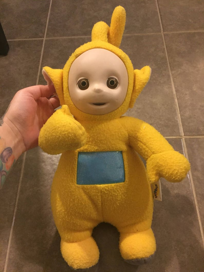 Vintage playskool teletubbies talking lala plush  7f23fd22a71f