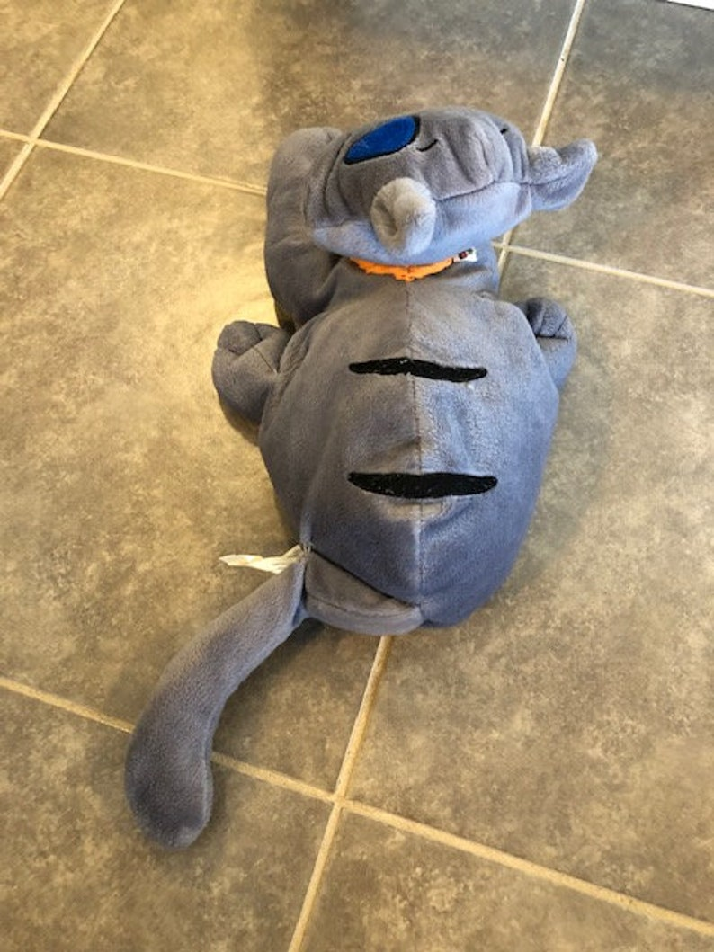Caillou 12 in long GILBERT THE CAT Plush Toy