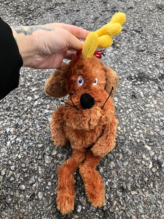 The Grinch Who Stole Christmas Dog.The Grinch Who Stole Christmas Dog Max Plush