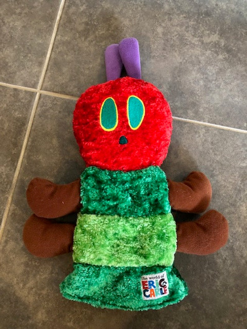 The Very Hungry Caterpillar Hand puppet