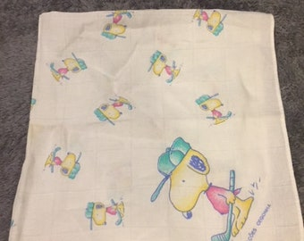 Vintage Peanuts Snoopy Tea Towel