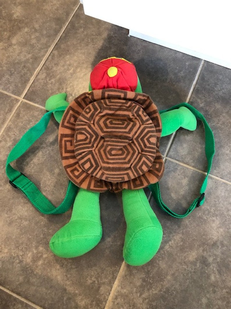 Franklin The Turtle Plush Back Pack