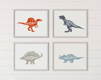 Printable Boy Room Decor, Boy Room Decorations, Dinosaur Decor, Dinosaur  Wall Art, Boy Nursery Decor, Dinosaur Wall Decor, Boy Nursery Art