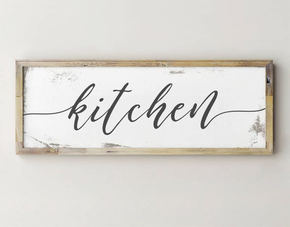 Printable Kitchen Signs Etsy