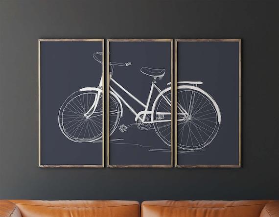 Druckbare Fahrrad Kunst Fahrrad Wand Kunst Etsy