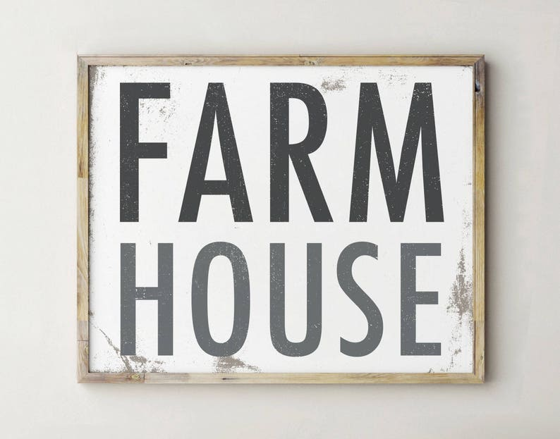 photo regarding Printable Farmhouse Signs named Printable Farmhouse Signal, Farmhouse Decor, Printable Farmhouse Decor, Farmhouse Indicator, Farm Space Indications, Farm Place Wall Decor, Farmhouse Artwork