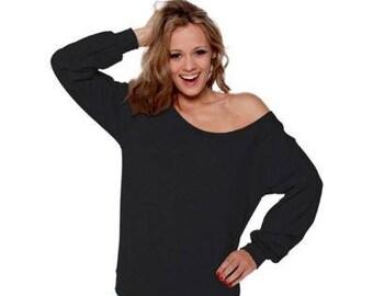 Off Shoulder Top Off Shoulder Sweater Off Shoulder Sweatshirt Slouchy  Oversized 0587154d7