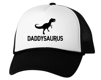 1c5ff2cee26ac Daddysaurus Hat Dad Hats for Father s Day Father 2018 Hat Geek Dad Trucker  Hat Gifts for Dad Cute Dinosaur Dad Trucker Hat Father 2018 Hat